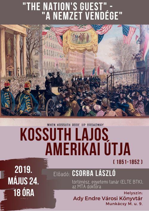 Kossuth Lajos amerikai útja