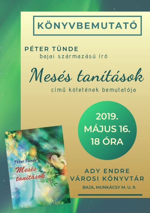 Péter Tünde: Mesés tanítások